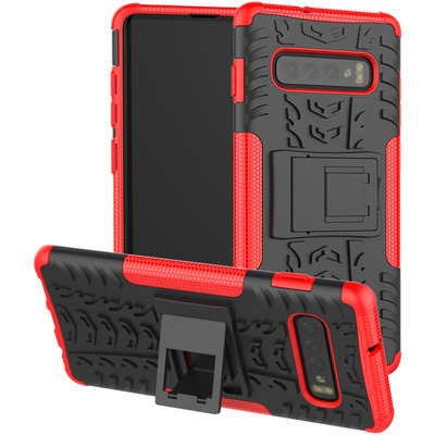 CoreParts MOBX-COVER-S10P-SM-G975-R Mobile phone case - Rood