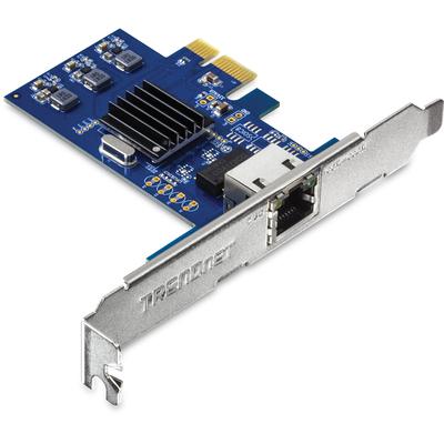 Trendnet TEG-25GECTX Netwerkkaart - Blauw, Zilver