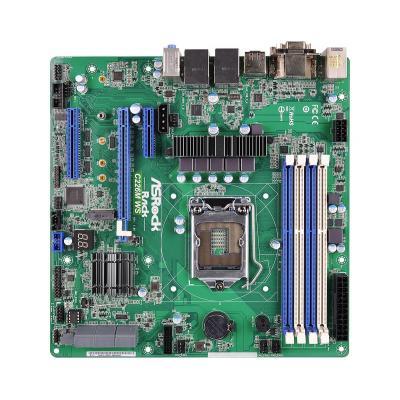 Asrock server/werkstation moederbord: Chipset Intel C226, Socket LGA1150, DDR3, 32GB Micro ATX