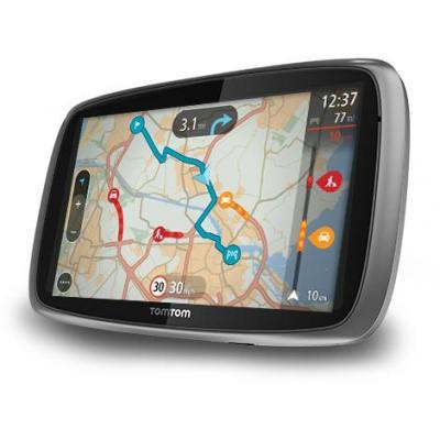 Tomtom navigatie: TRUCKER 6000 - Grijs