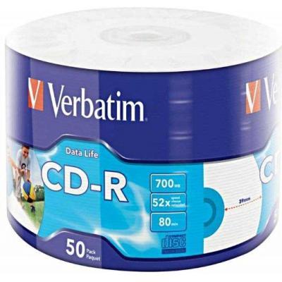 Verbatim CD: 50x CD-R