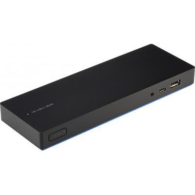 Hp mobile device dock station: Elite USB-C-dock - Zwart (Renew)