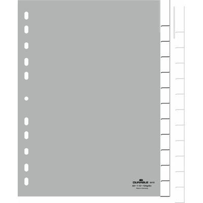 Durable 6410-10 Indextab - Grijs