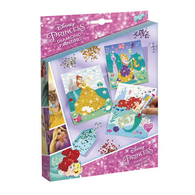Totum Disney Princess Diamond Painting - Multi kleuren
