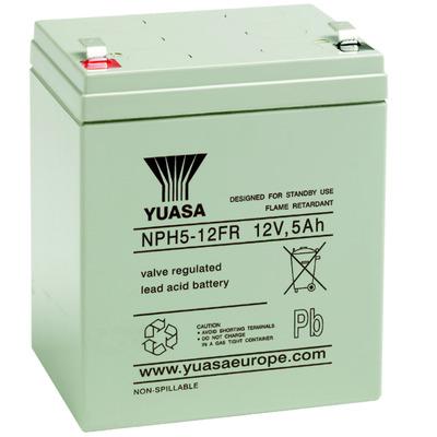 PowerWalker 12V / 5Ah high-discharge rate battery for online UPSs, fits VFI 6000 PRT UPS batterij - Grijs