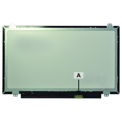 2-power notebook reserve-onderdeel: 14.0 1366x768 WXGA HD LED Matte Screen - replaces HB140WX1-301
