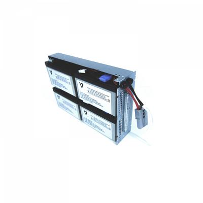 V7 RBC132 UPS batterij - Zwart,Metallic