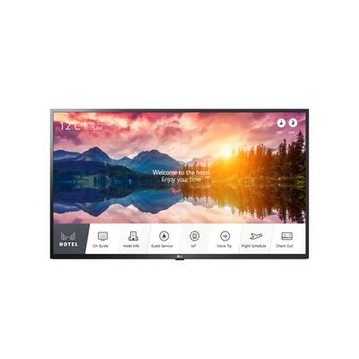 """LG 43"""", 3840 x 2160, DVB-T2/C/S2, webOS 5.0, Hotel Mode, HDMI, USB, CI, RS-232C, RJ-45 Led-tv - Zwart"""