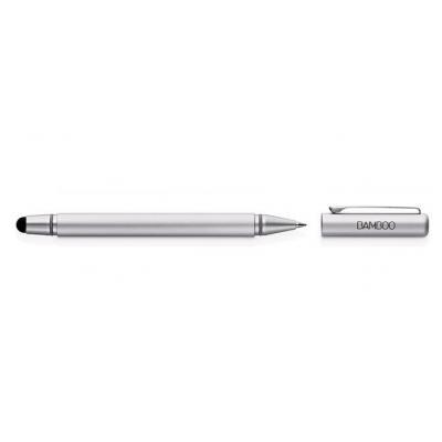 Wacom stylus: 9mm, 14g, silver, 133mm, silver - Zilver