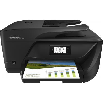 Hp multifunctional: OfficeJet 6950 All-in-One printer - Zwart, Cyaan, Magenta, Geel