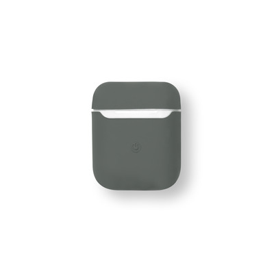 ESTUFF AirPods Silicone Case Olive Koptelefoon accessoire - Olijf