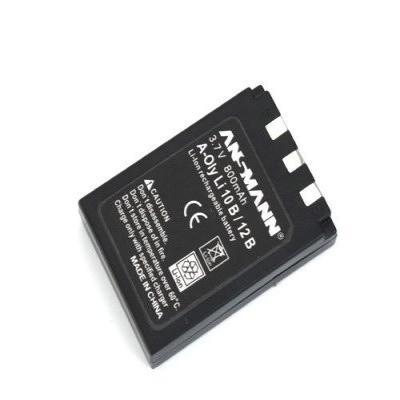 Ansmann Li-Ion battery packs A-Oly LI 12 B - Zwart