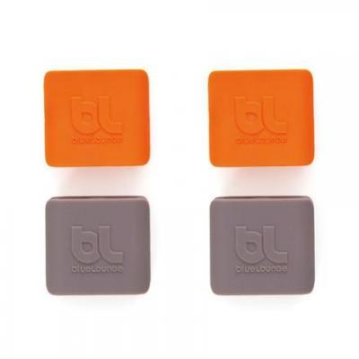 Bluelounge kabelklem: CableClip - Grijs, Oranje
