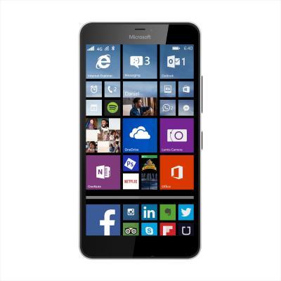 Microsoft smartphone: Lumia 640 XL wit