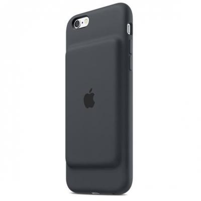 Apple mobile phone case: Smart Battery Case - Kolen, Grijs