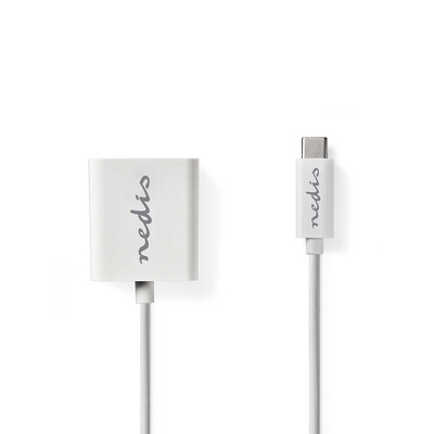 Nedis USB-C™-Adapterkabel, Type-C™ Male - HDMI™-uitgang, 0.2 m, Wit