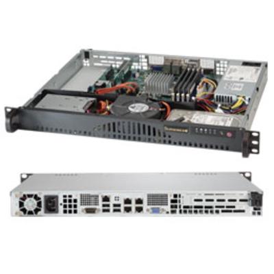 Supermicro server barebone: SuperServer 5018A-MLTN4 - Zwart, Zilver
