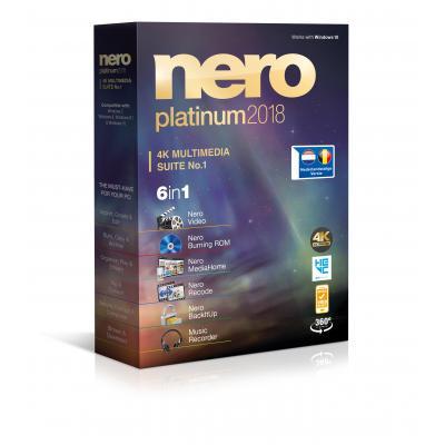 Nero algemene utilitie: 2018 Platinum