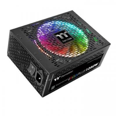 Thermaltake Toughpower iRGB PLUS 1250W Titanium Power supply unit - Zwart