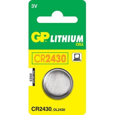 Gp batteries batterij: Lithium Cell CR2430 - Roestvrijstaal