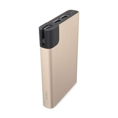 Belkin powerbank: MIXIT↑ METALLIC Power RockStar 10000 - Zwart, Goud