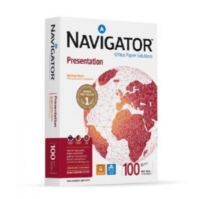 Navigator papier: PRESENTATION - Wit