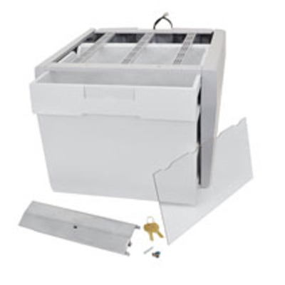 Ergotron multimedia accessoire: SV43/44 Envelope Drawer - Grijs, Wit