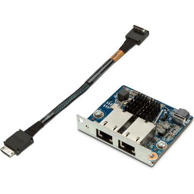 HP 10GBASE-T Dual NIC-module Z6/8 G4 Netwerkkaart - Blauw,Zilver