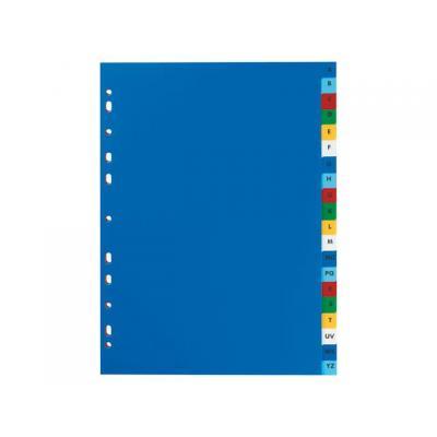 Elba schutkaart: Tabblad A4 11r A-Z PP kleur/set 20