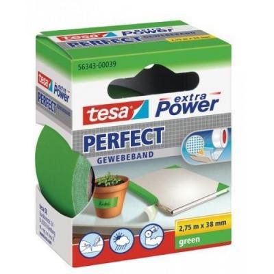 Tesa plakband: Extra Power 38mmx2.75m - Groen
