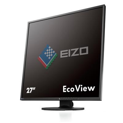 """EIZO FlexScan 26.5"""" IPS USB Hub Monitor - Zwart"""