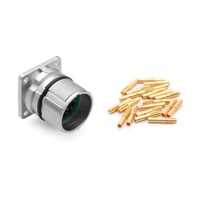 Amphenol elektrische standaardconnector: MA1LAP1700-Kit 17 Position Receptacle Kit, P Type, Threaded, Pin Contacts