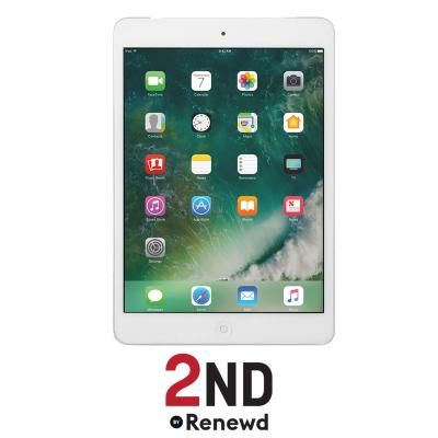 2nd by renewd tablet: Apple iPad Mini 2 Wifi refurbished door 2ND- 16GB Zilver (Refurbished AN)