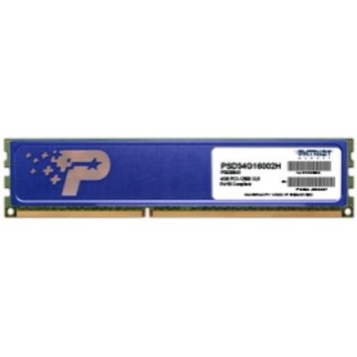 Patriot Memory PSD34G16002H RAM-geheugen