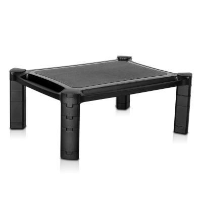V7 multimedia kar & stand: Height Adjustable Riser Stand - Zwart