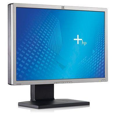 HP monitor: LP2465 - Zwart, Zilver (Refurbished LG)