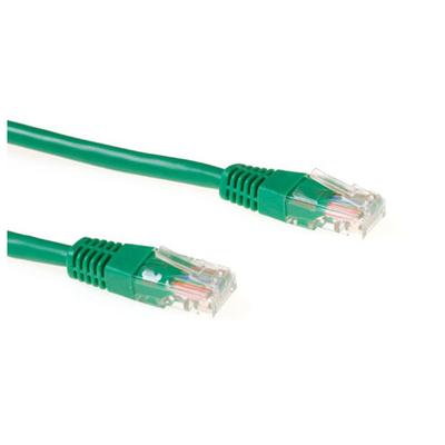 Ewent 2.0m Cat5e UTP Netwerkkabel - Groen
