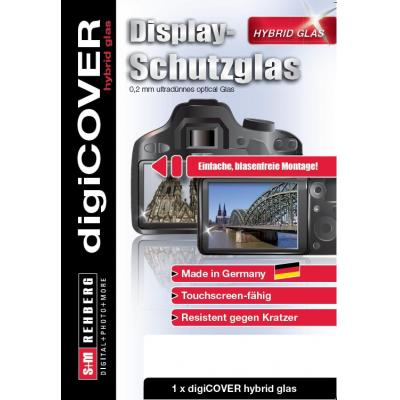 DigiCover for Panasonic DMC-TZ71 Screen protector - Transparant