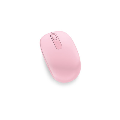 Microsoft Wireless Mobile Mouse 1850 Computermuis - Roze