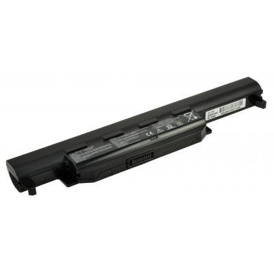 2-power batterij: Replacement Battery Asus K55 - Zwart