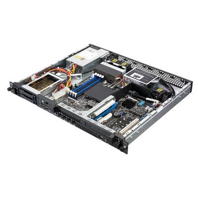 Asus server barebone: RS200-E9-PS2-F - Zwart, Grijs