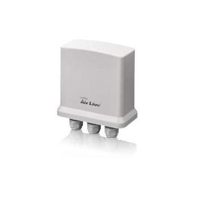 AirLive Outdoor PoE Extender, 2 x PoE, 2 x LAN, 300 m, 10/100/1000 Mbps, 45 - 55 Vdc, 12 - 48W, IP65 Netwerk .....