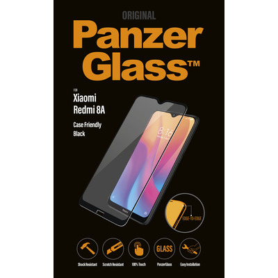 PanzerGlass Xiaomi Redmi 8A Edge-to-Edge Screen protector - Transparant