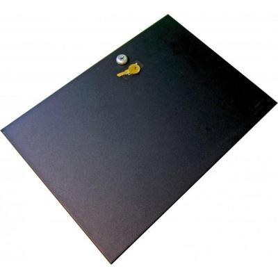 Apg cash drawer : Locking Till Cover for 4000/100 Series, Black - Zwart