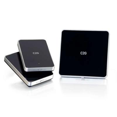 C2G DRAADLOZE A/V-SET VOOR HDMI-APPARATEN MET 2 ONTVANGERS Reciever - Zwart