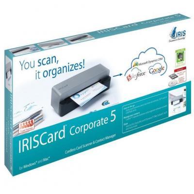 I.r.i.s. scanner: IRISCard Corporate 5 - Zwart, Grijs
