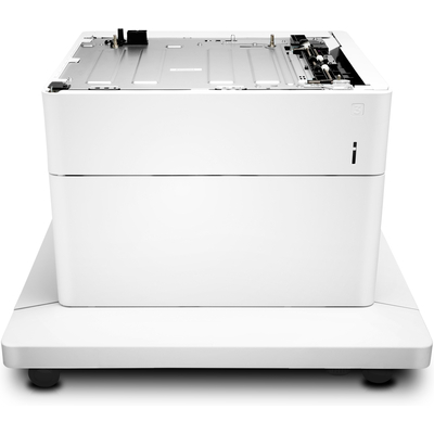 Hp papierlade: Color LaserJet papierlade voor 550 vel met standaard - Wit