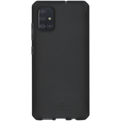 ITSKINS Spectrum Frost Backcover Samsung Galaxy A51 - Zwart - Zwart / Black Mobile phone case
