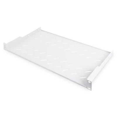 Digitus 1U fixed shelf for racks from 400 mm depth 45x483x250 mm, up to 15 kg, grey (RAL 7035) Rack toebehoren - .....