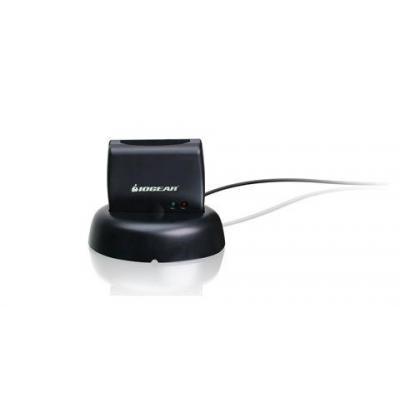 Iogear smart kaart lezer: Vertical USB Smart Card Access Reader TAA - Zwart